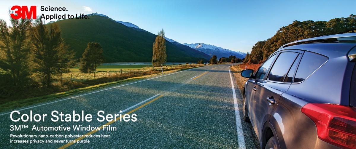 Al Sayegh 3M Automotive Window Films Color Stable Series